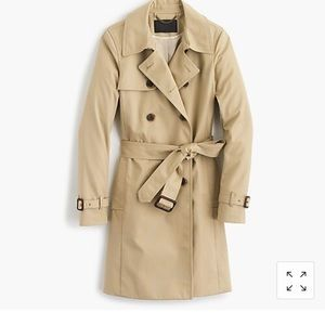 J Crew Collection Icon Trench Coat, size 14